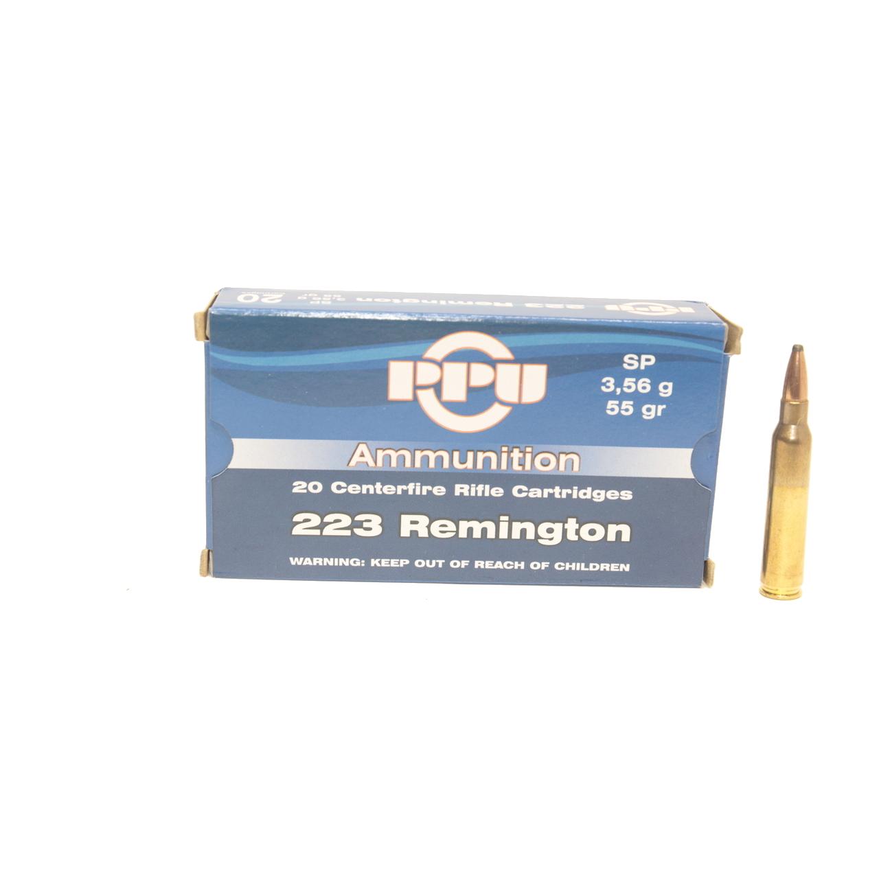 223 Rem PPU SP 3.56