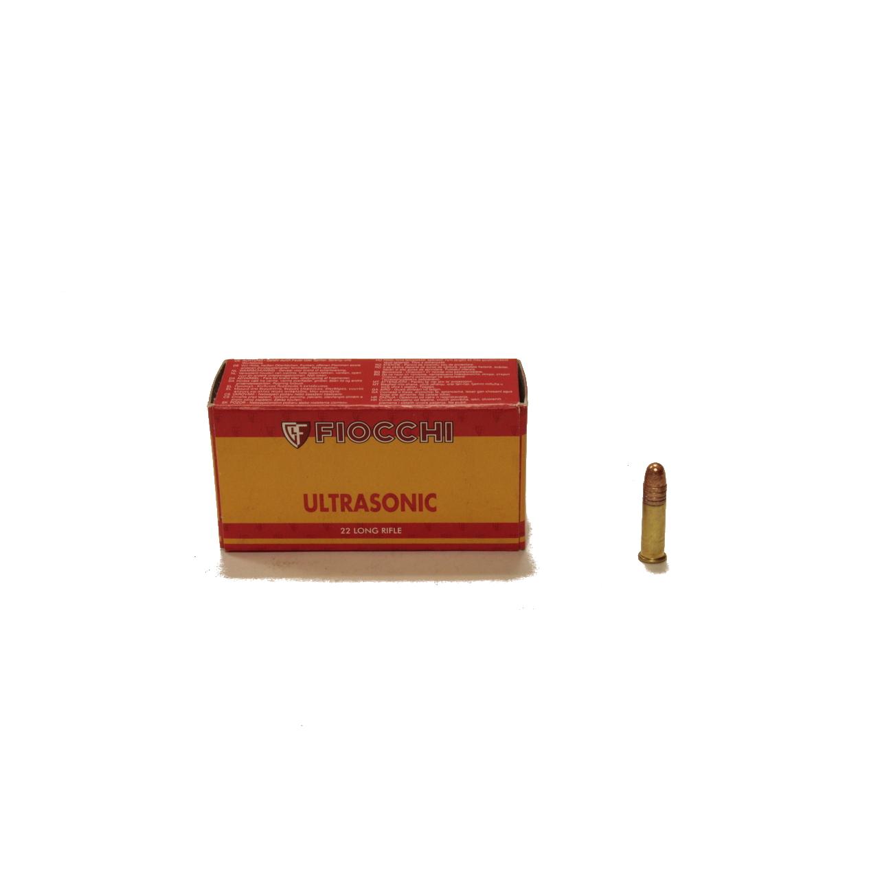 22 LR Fiocchi Ultrasonic 40gr /50/